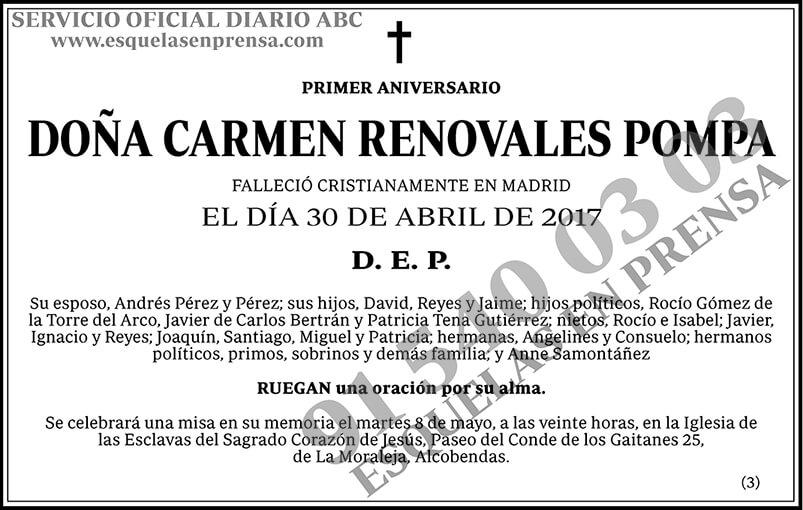 Carmen Renovales Pompa